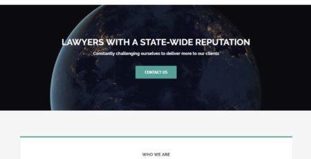 Mark Hunt Law Cucumber & Company Website Design Beckley West Virginia