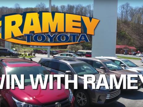 Ramey Toyota Car Dealer Advertisement Video Production Princetown WV Cucumber & Co