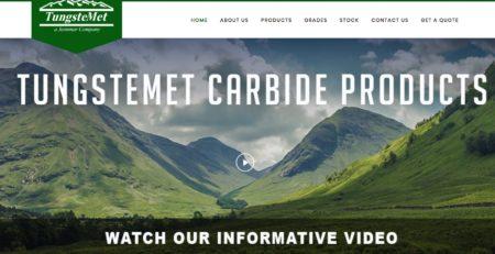 Tungstemet Website redesign by Cucumber & Company Beckley Princeton Bluefield Charleston Huntington West Virginia Web Design